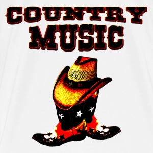 country music Skjorter - Premium T-skjorte for menn