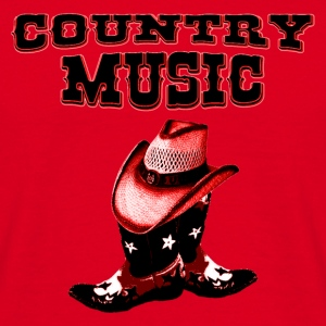 country music Tasker - Herre-T-shirt