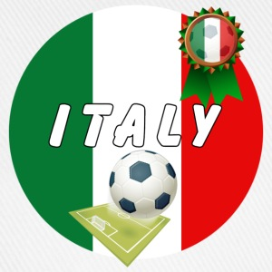 Italy Football Team pitch ball & Rosette  - Baseball Cap