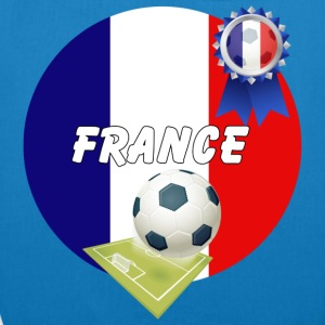 France Football Team Supporters - EarthPositive Tote Bag