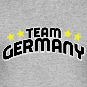 team germany Tröjor - Slim Fit T-shirt herr