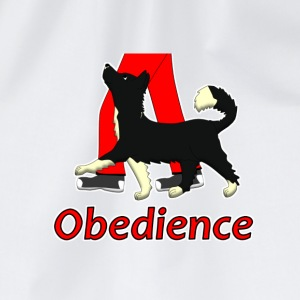 Obedience 1 Border Collie 1 Buttons - Gymtas
