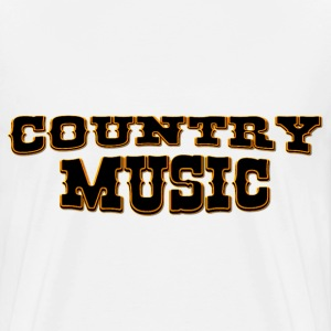 country music Vesker - Premium T-skjorte for menn