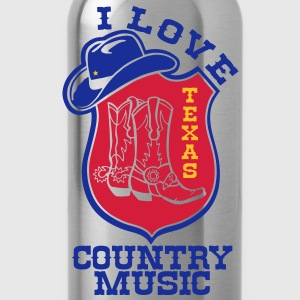 i love country music Tee shirts - Gourde