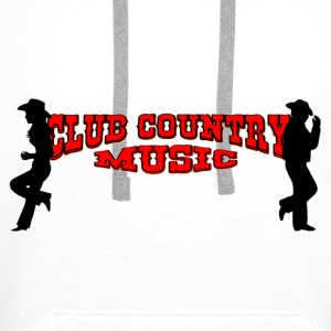 club country music Accessoires - Mannen Premium hoodie