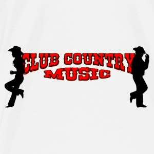 club country music Accessoires - T-shirt Premium Homme