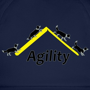 Agility 4x Border Collie T-shirts - Basebollkeps