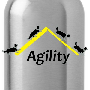 Agility 4x Border Collie Sweatshirts - Drikkeflaske