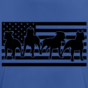 ast_flag_4dogs_001 Sweaters - mannen T-shirt ademend