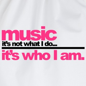 Music - Who I am T-Shirts - Turnbeutel