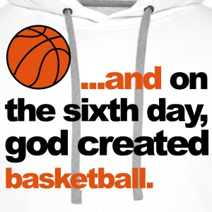 Sixth Day - Basketball Tee shirts - Sweat-shirt à capuche Premium pour hommes