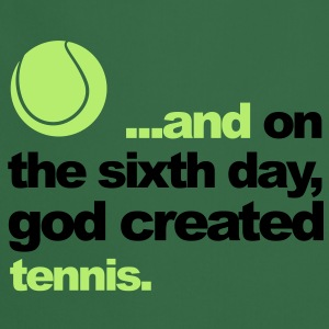 Sixth Day - Tennis Sweaters - Keukenschort