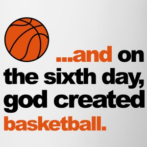 Sixth Day - Basketball Kids' Shirts - Mug