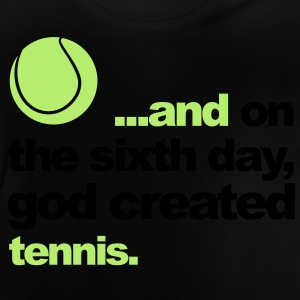 Sixth Day - Tennis Kinder sweaters - Baby T-shirt