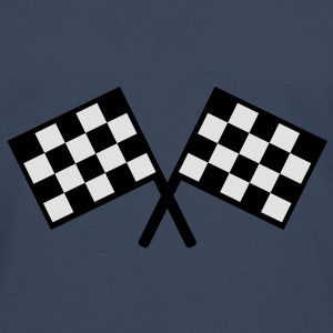 flags - car race Caps & Hats - Men's Premium Longsleeve Shirt