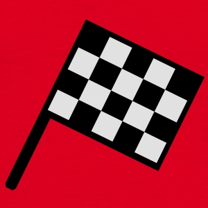 flag - car race Bags  - Men's T-Shirt