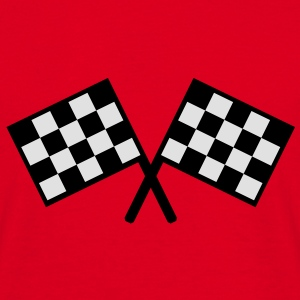 flags - car race Bags  - Men's T-Shirt