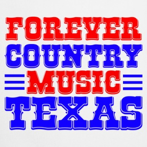 forever country music texas Skjorter - Kokkeforkle