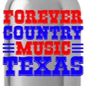 forever country music texas bolsas - Cantimplora