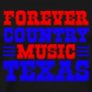 forever country music texas Bags  - Men's Premium T-Shirt