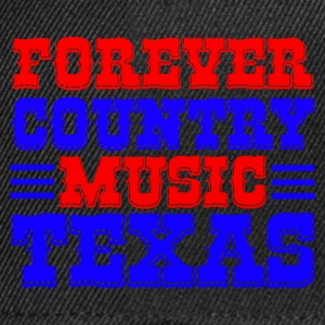 forever country music texas Bags  - Snapback Cap