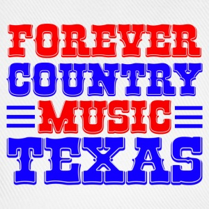 forever country music texas Bags  - Baseball Cap