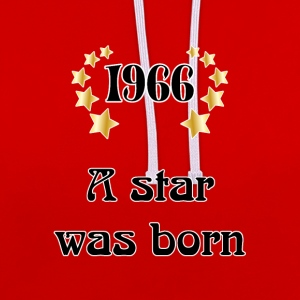 1966 - a star was born T-shirts - Kontrastluvtröja