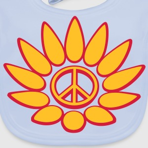 PeaceFlower Kinder T-Shirts - Baby Bio-Lätzchen