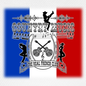 country music the real french club Sweat-shirts - Casquette classique