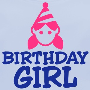 Birthday Girl 3 (2c)++ Kinder shirts - Bio-slabbetje voor baby's