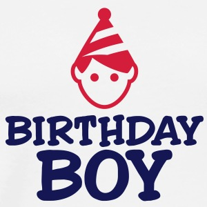 Birthday Boy 3 (2c)++ Hoodies & Sweatshirts - Men's Premium T-Shirt