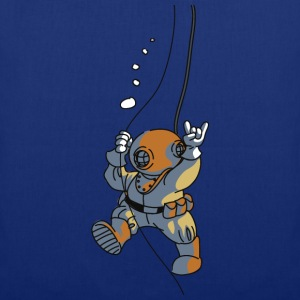 diver old fashioned Tee shirts - Tote Bag