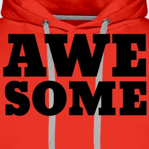 Awesome Tee shirts - Sweat-shirt à capuche Premium pour hommes