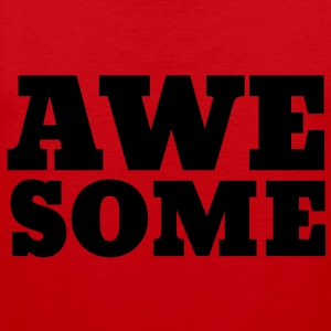 Awesome T-shirts - Premiumtanktopp herr