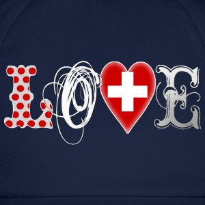 Love Suisse White Hoodies & Sweatshirts - Baseball Cap