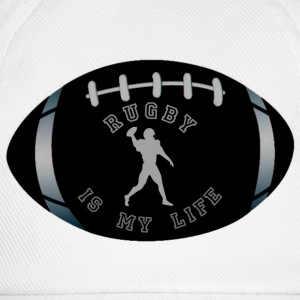 rugby is my life Magliette - Cappello con visiera