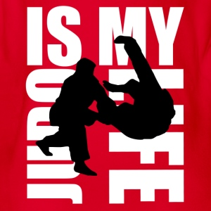 judo is my life T-Shirts - Baby Bio-Kurzarm-Body