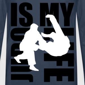judo is my life Sweat-shirts - T-shirt manches longues Premium Homme