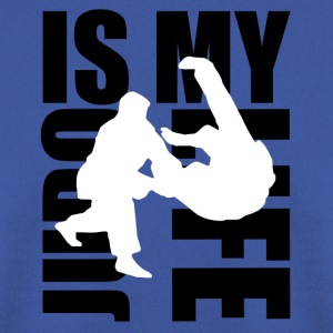 judo is my life Sacs - Sweat-shirt Homme
