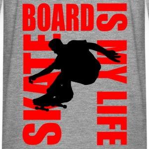 skateboard is my life Gensere - Premium langermet T-skjorte for menn