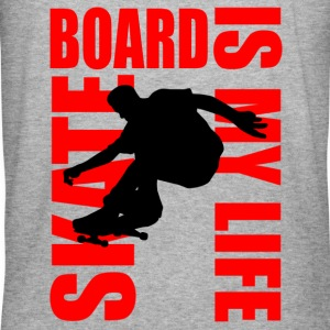 skateboard is my life Gensere - Slim Fit T-skjorte for menn