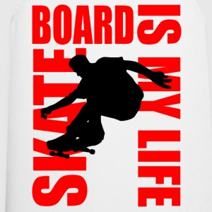 skateboard is my life Camisetas - Delantal de cocina