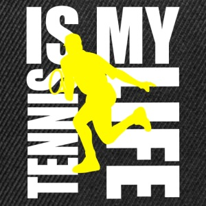 tennis is my life Tee shirts Enfants - Casquette snapback