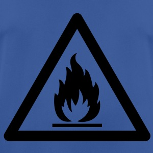 Hazard Symbol - Flammable Hoodies & Sweatshirts - Men's Breathable T-Shirt