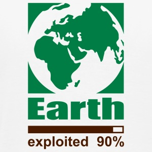 Earth exploited Polos - T-shirt Premium Homme
