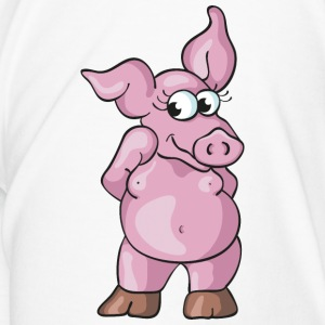 Lovely Pig Bottles & Mugs - Men's Premium T-Shirt