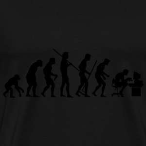 Evolution of Society - Männer Premium T-Shirt