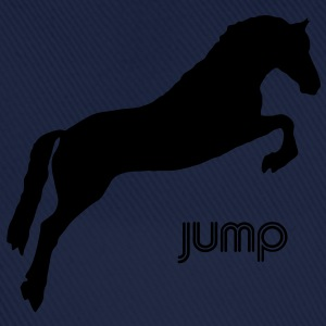 Jumping Horse - you can change the colour Hoodies & Sweatshirts - Baseball Cap