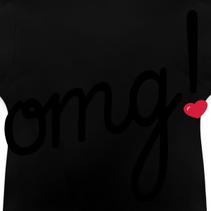 omg Heart Tee shirts Enfants - T-shirt Bébé