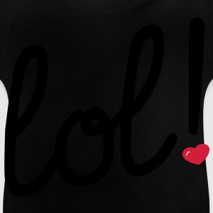 lol Heart Tee shirts Enfants - T-shirt Bébé